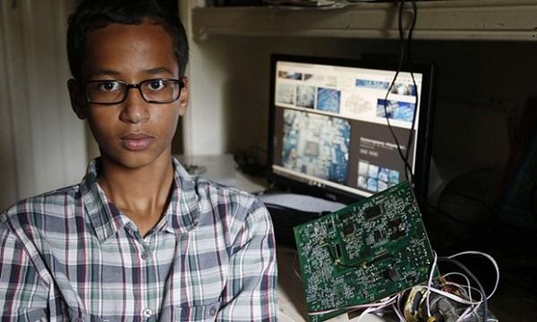Ahmed und seine Uhr. Foto: The Guardian