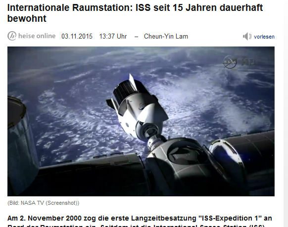 Screenshot: heise.de