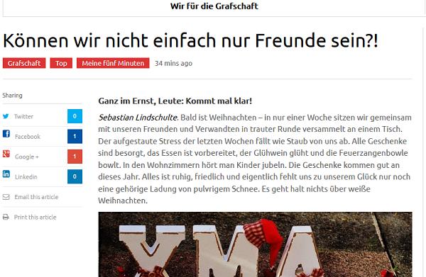 Screenshot: EVN.de