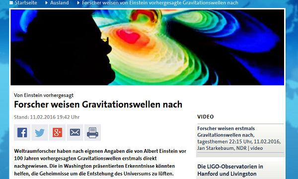 Screenshot: tagesschau.de