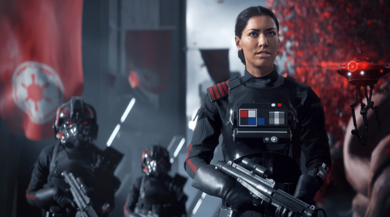 Iden Versio and Inferno Squad. Battlefront 2 - Press Image (c) EA Games