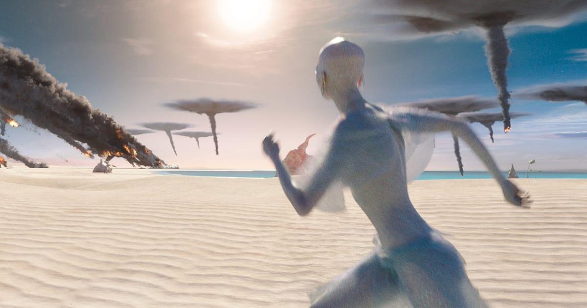 Angriff auf die Pearls in Valerian: Die Stadt der Tausend Planeten. (c) STX Entertainment