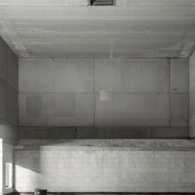 Der zweitgrößte Kinosaal in Nordhorn: Blick von der Leinwand auf die entstehenden Ränge. (c) Sebastian Lindschulte